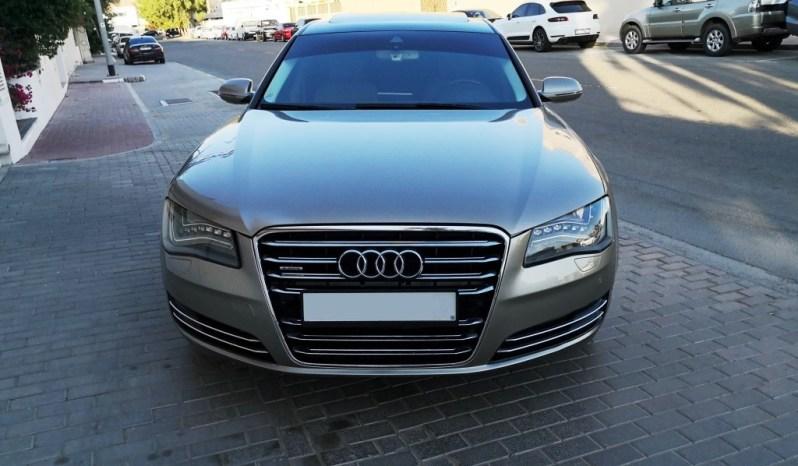 Audi A8L, 4.2L FSI Quattro, Full Option, Luxury Feature, GCC Specs. full