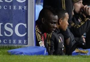 Mario Balotelli crying