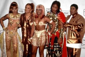 lil kim, ladiesnight, missyelliot, dabrat, lefteye, femalemc's