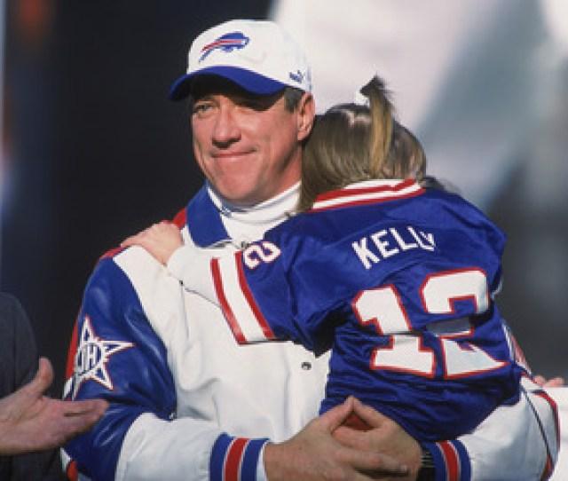 Buffalo Bills Jim Kelly Football Cancer Disease