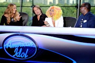 Mariah Carey, Keith Urban, Nicki Minaj and Randy Jackson of American Idol   Hip Hop News, Music and Culture   The Source