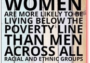 Women and Poverty banner