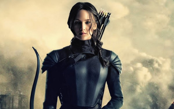 Jennifer Lawrence als Katniss Everdeen in The Hunger Games: Mockingjay Part 2