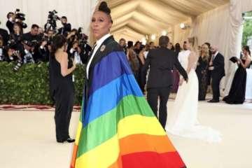 Lena Waithe Rocked a Pride-Flag Cape at the Catholic-Themed Met Gala