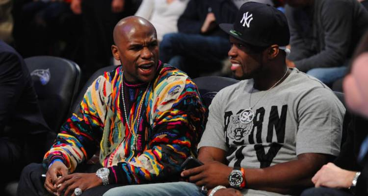 Floyd Mayweather Promises $1,000 to Whoever Trolls 50 Cent the Best