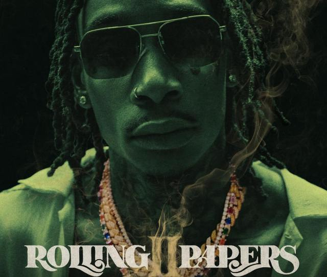 Wiz Khalifa Releases Cover Art For Rolling Papers