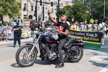 Vic Mensa Threatened to be Arrested by Police at Chicago's Bud Billiken Parade