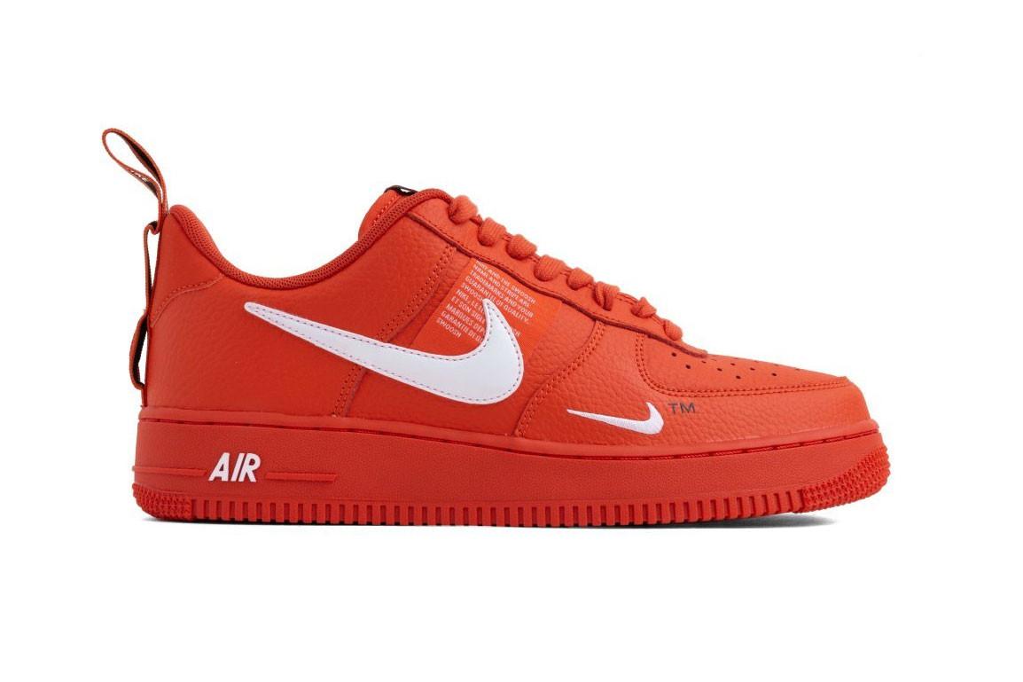 Nike Air Force 1 07 LV8 Low Top Sneakers Sale Team Orange