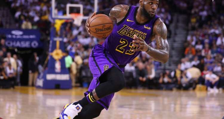 LeBron James Strains His Groin in a Surprising Lakers Blowout of the Golden State Warriors on Christmas Day