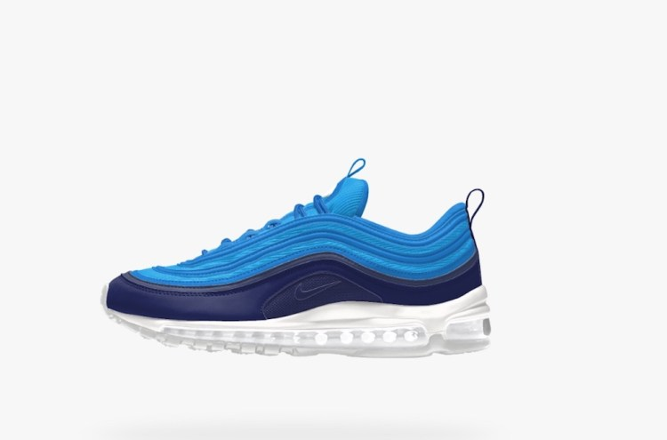 Nike iD Lets You Control the Air Max 97 Colorway With Its