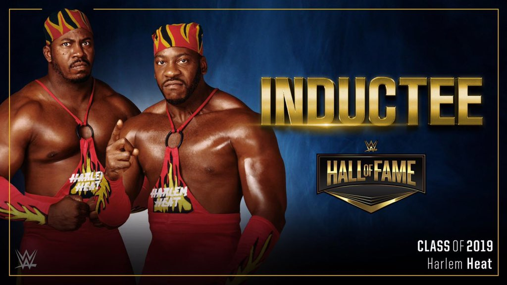 Harlem Heat Announced For the WWE Hall of Fame