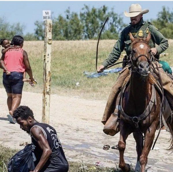 Haitians Seek Asylum Rio Grande River Texas