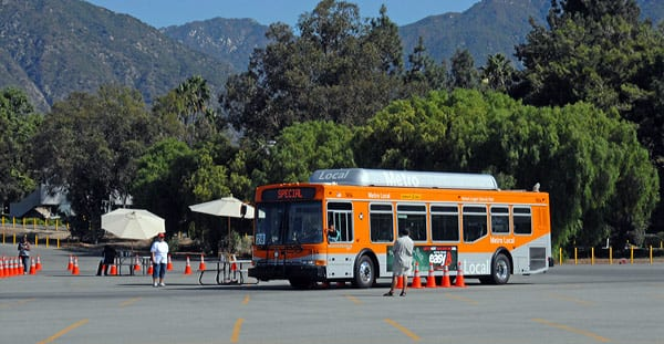 Rubber meets the road at the 35th Annual Metro Bus Roadeo held Sept. 25 in the parking lot of the Santa Anita Racetrack in Arcadia.