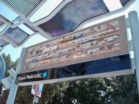 "USC/Expo Park Station: Robbert Flick, ""On Saturdays"""