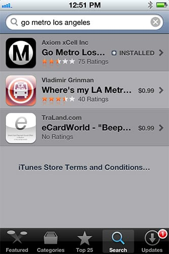 App Store Search