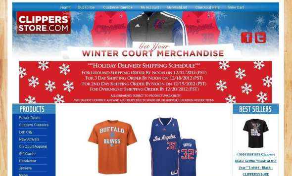 Official Clippers store.