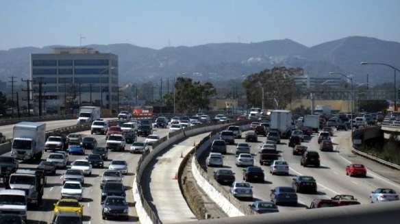 Traffic on the 405. Photo by malingering, via Flickr creative commons.