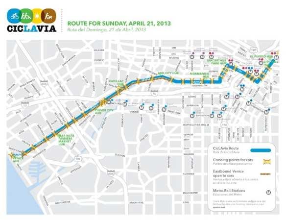 CivLAvia map for April 21 celebration.
