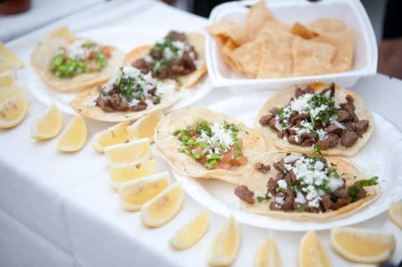 Pig out on some tasty tacos. Photo: L.A. Taco Festival.