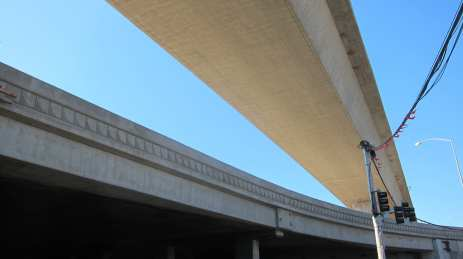 Another view of the new NB flyover on-ramp. Photo by Dave Sotero/Metro.