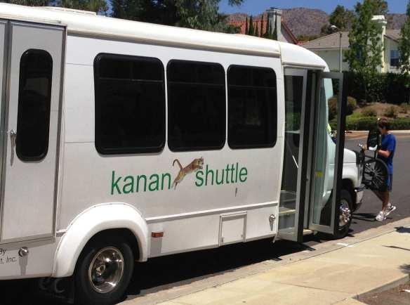 The Oak Park Kanan Shuttle. Photo courtesy of Consortium Media.