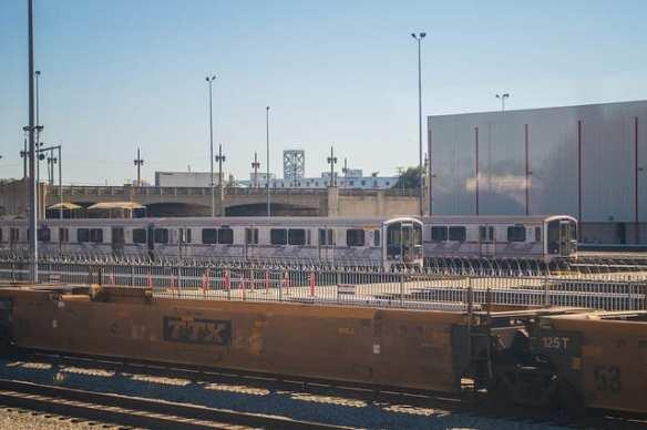 Shhh...don't wake the subway cars! Jon Ross Alexander/Metro