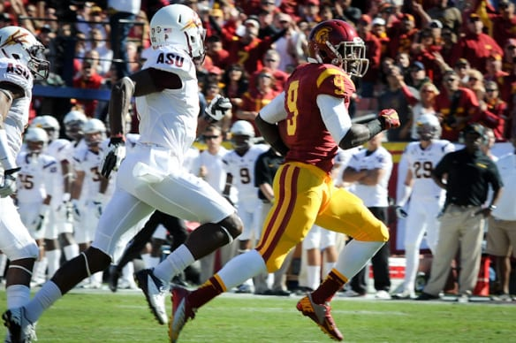 USC opens up their season this Saturday against Fresno State. Photo by Neon Tommy, via Flickr creative commons.