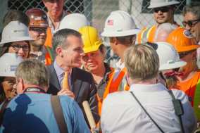 Metro Board Chair and Los Angeles Mayor Eric Garcetti.