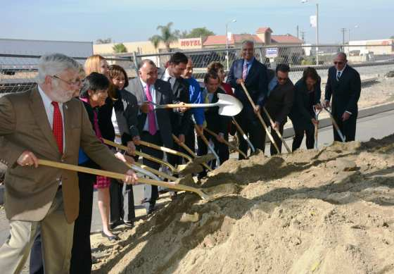 Official groundbreaking of Puente Avenue Grade Separation Project.