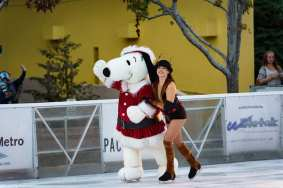 Snoopy and friends take the ice! Photo: Steve Hymon/Metro