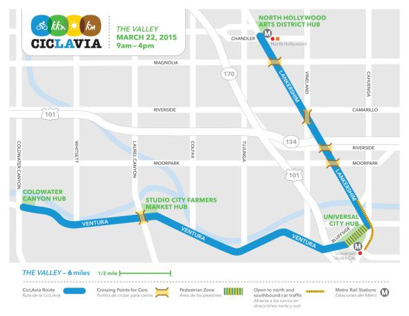 Metro Presents CicLAvia in the San Fernando Valley