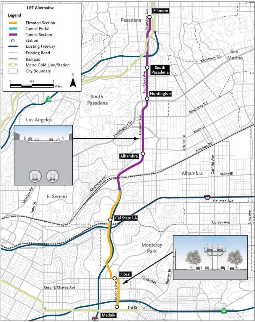 Fig 5 LRT Alternative