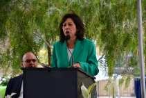 L.A. County Supervisor and Metro Board Member Hilda Solis.