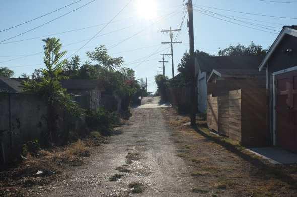 Highland Park's secret alleys