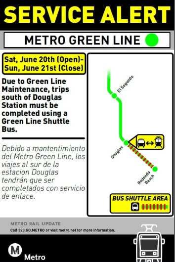 Redondo Beach closure Jun 20, 21