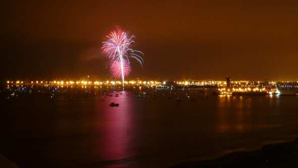 queen mary fireworks