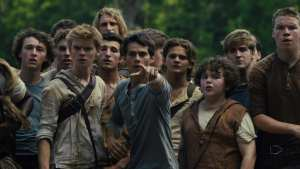 "Ingredients for ""Maze Runner:"" ""Lord of the Flies"" and add maze, girl and monsters that will tear you apart limb by limb. Photo: 20th Century Fox."