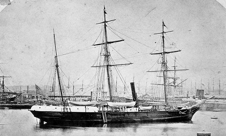 The Jeannette in better days. Credit: Wikimedia.