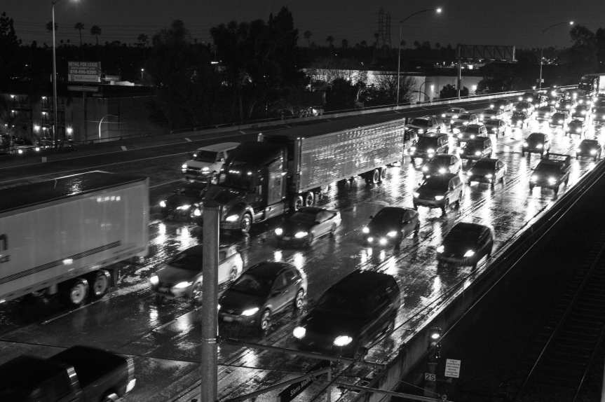 Commute times are inching up across America, so says the Census Bureau. Photo by Steve Hymon/Metro.