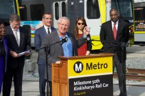L.A. Council Member and Metro Board Member Mike Bonin.
