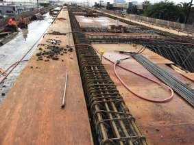 Aviation/Century Bridge deck.