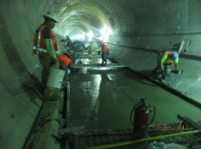 And work in the southbound tunnel under Crenshaw Boulevard.