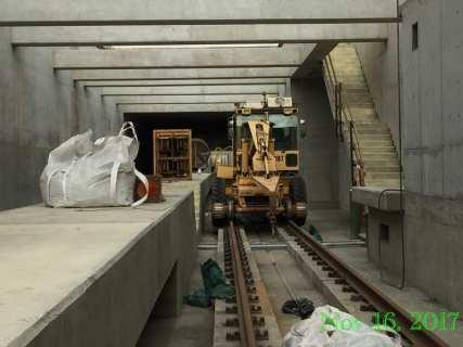 The underground segment adjacent to LAX's south runway.