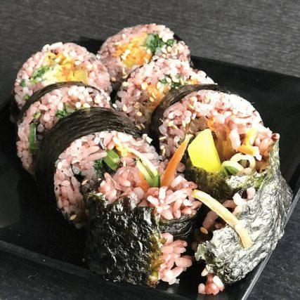 Vegan kimbab.
