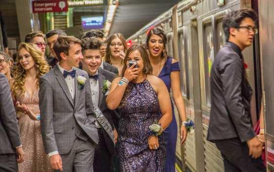 Metrolink prom