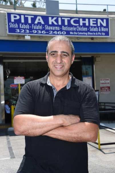 Ziad Janah, owner of Pita Kitchen.