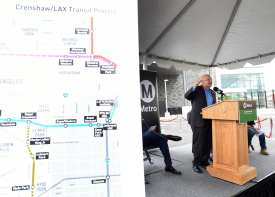 Southwestern Yard Ribbon Cutting