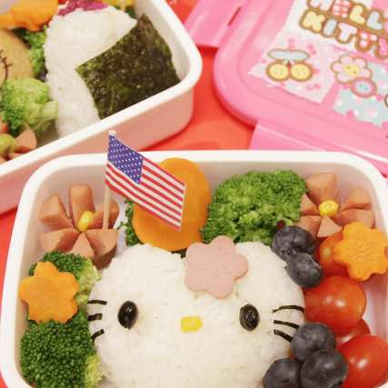 Learn how to build a cute bento box!