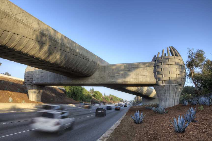 """Gold Line Bridge"" by Andrew Leicester, designed with"