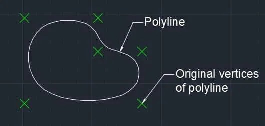 Make spline and arc from polyline in AutoCAD